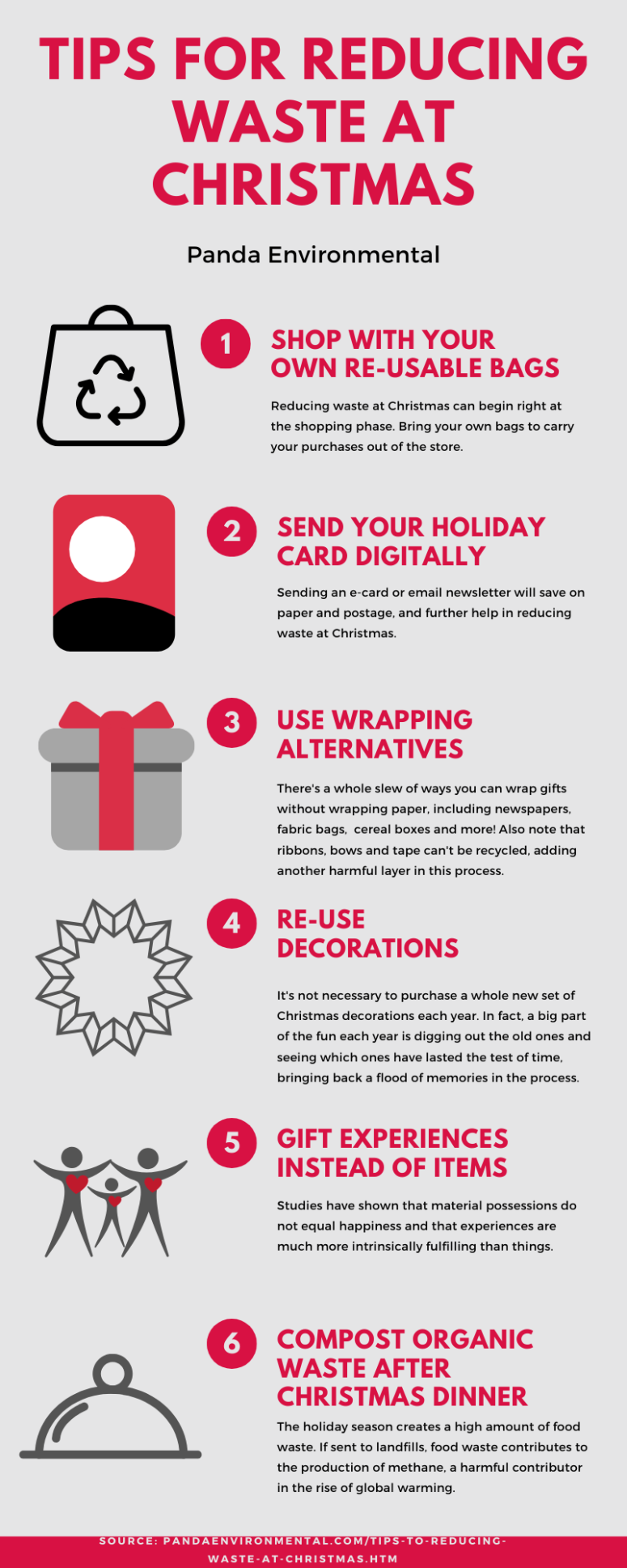 Tips For Reducing Waste At Christmas